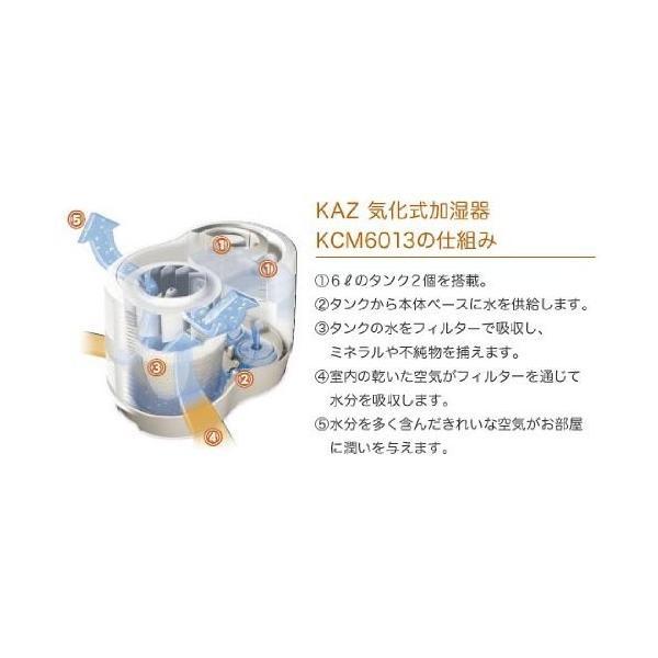 カズ KAZ 気化式加湿器 KCM6013 業務用加湿器 【木造/25畳~コンクリート/42畳】|rasta|04