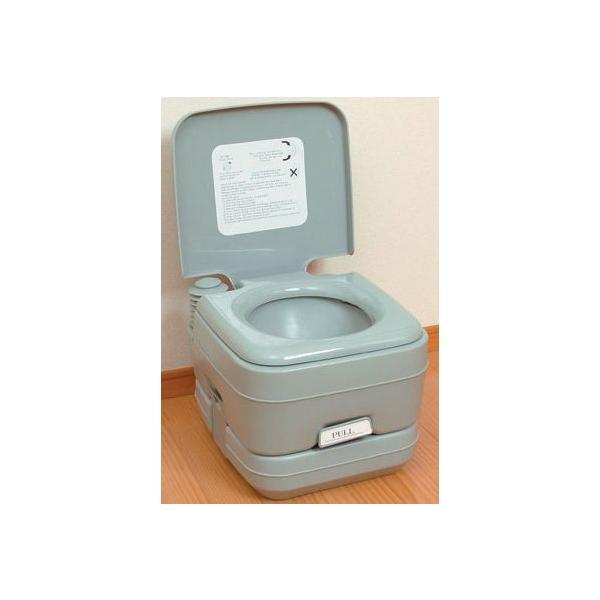 簡易トイレ/介護用品 トイレ/非常用トイレ/災害用トイレ/軽量ポータブル水洗トイレ10L|rasta