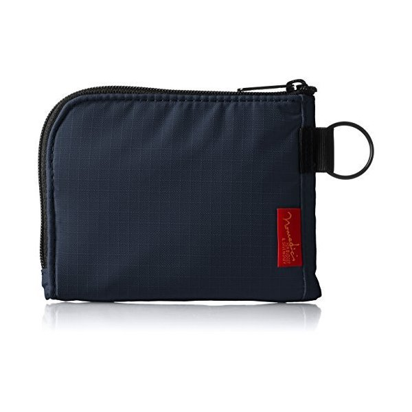 ノーマディック 財布小銭入れL字型コンパクト財布SA-08紺