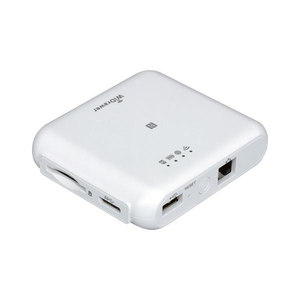 Wi-Fi SDカードリーダー 5GHz対応 433Mbpsモデル (ホワイト) REX-WIFISD2|ratoc