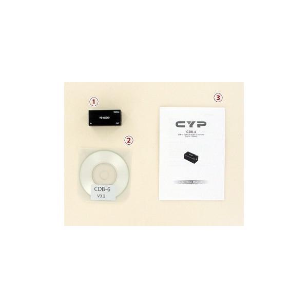 Cypress Technology製 192KHz USB→光デジタルコンバータ CDB-6|ratoc|02
