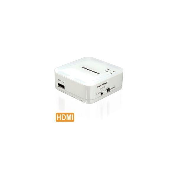 アウトレット特価 Cypress Technology製 HDMIオーディオ切替器(HDMI音声/光デジタル/アナログ音声) CLUX-11CA|ratoc|02