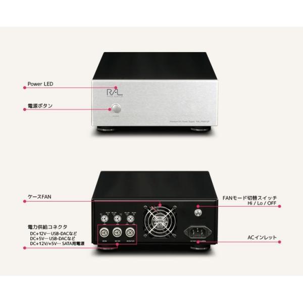 RP-EC5-U3AI用 DC+5V/+12V 電源キット RAL-PS0512P|ratoc|02