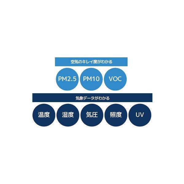 Bluetooth エアクオリティ モニター REX-BTPM25V|ratoc|04