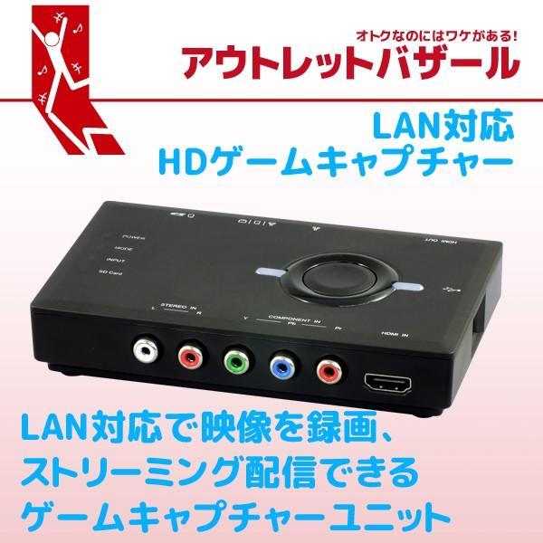 新価格 アウトレット特価 LAN対応HDゲームキャプチャー REX-HDGCBOX2 OL ratoc