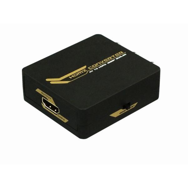 アナログ(コンポジット映像:CVBS)信号をデジタル(HDMI)信号に変換(給電用USBケーブル付き) コンポジット to HDMI 変換コンバーター RP-AV2HD2|ratoc|03
