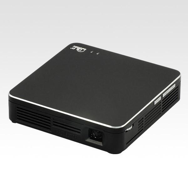Miracast対応モバイルプロジェクター ブラック RP-MP1-BK スマホで撮った映像を無線で映せる バッテリー内蔵 小型 HDMI/MHL接続 USBの写真・動画再生 ratoc 02