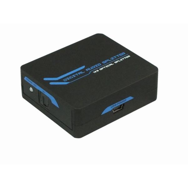 1入力3出力 光デジタル分配器 RP-OPTSP13 メーカー1年保証 ratoc 02