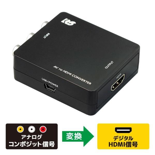 コンポジット to HDMI コンバーター RS-AV2HD1A|ratoc|02