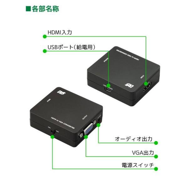 HDMI to コンポジット コンバーター RS-HD2AV1|ratoc|03