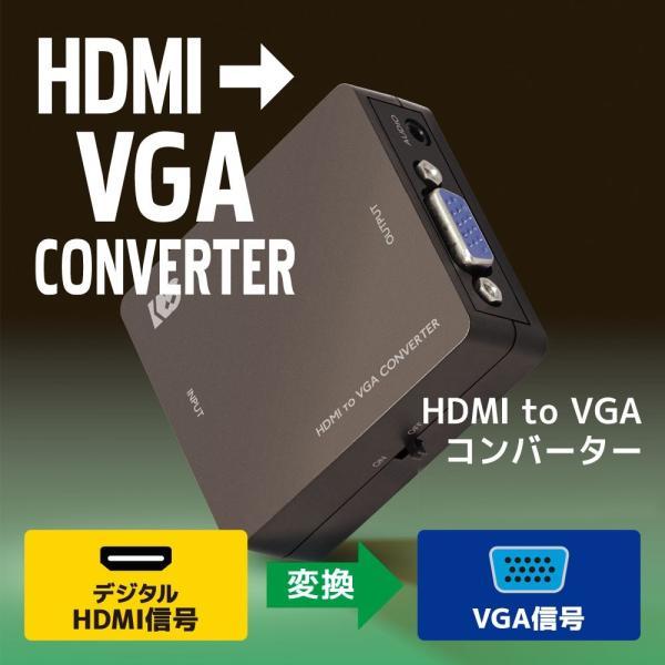 HDMI to VGA コンバーター RS-HD2VGA1 ratoc