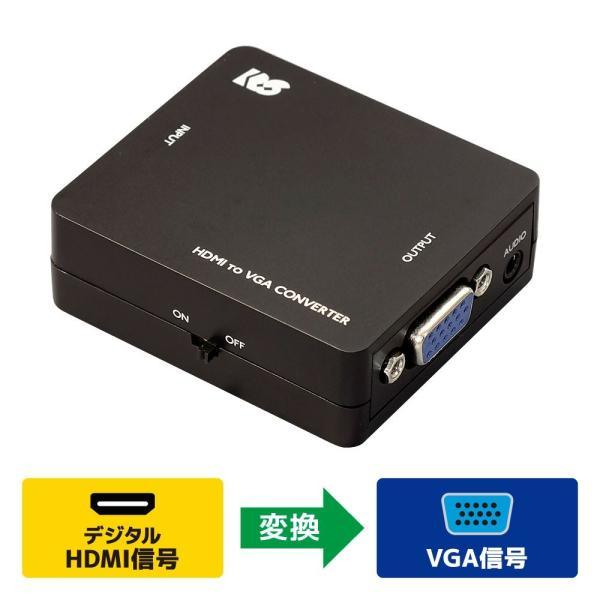 HDMI to VGA コンバーター RS-HD2VGA1 ratoc 02