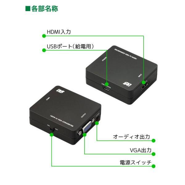HDMI to VGA コンバーター RS-HD2VGA1 ratoc 03