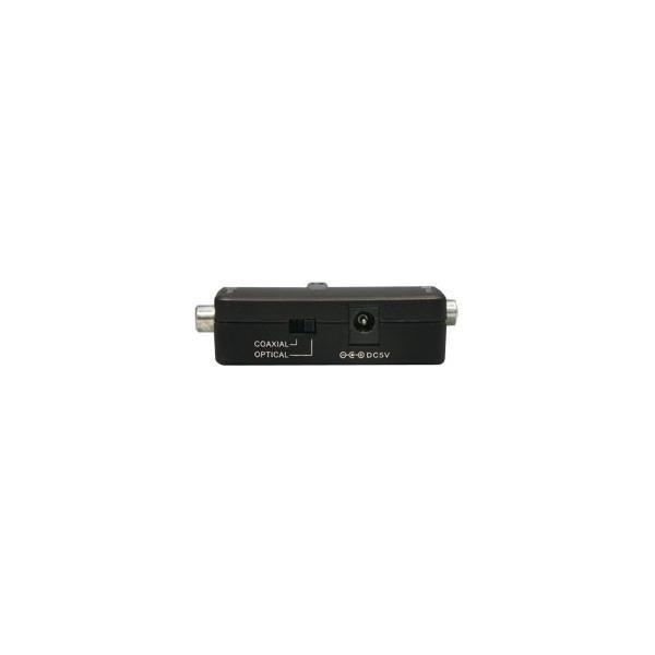 光デジタル⇔同軸デジタル 双方向変換アダプター RS-OPTXCOA2 光(同軸)デジタル音声を同軸(光)デジタルに変換するDDオーディオ変換器 メーカー1年保証|ratoc|04