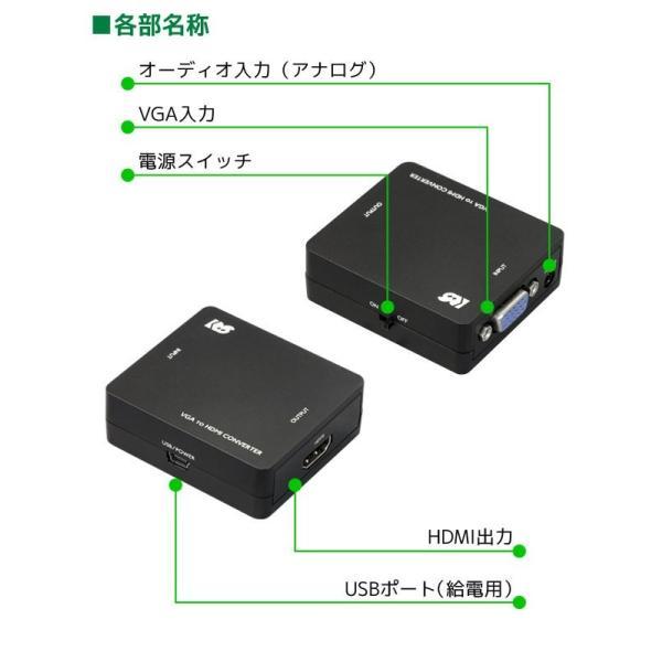 VGA to HDMI コンバーター RS-VGA2HD1|ratoc|03