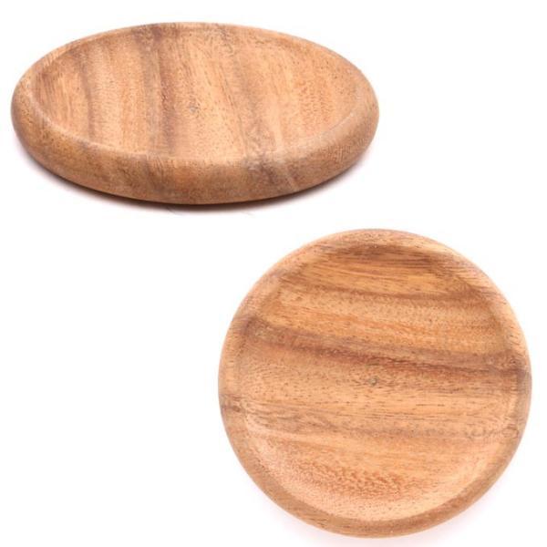アカシア コースター 木製 【9.3×9.3cm】 キッチン用品 トレー カップトレイ 茶たく 茶托 北欧 アウトドア BBQ おしゃれ かわいい ラッピング無料|rattlewood|05