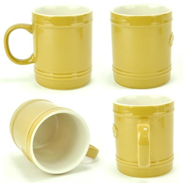 マグカップ おしゃれ 陶器 コップ 【280ml】まぐかっぷ カップ コーヒーカップ 湯のみ 柄物 かわいい 北欧 ナチュラル ラッピング無料 rattlewood 04