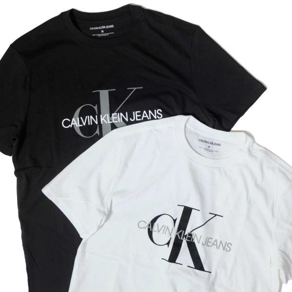カルバン クライン ジーンズ モノグラム ロゴ Tシャツ 全2色 メンズ|rawdrip