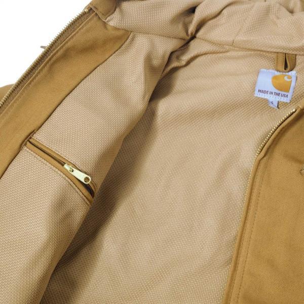 カーハート サーマル ラインド ダック アクティブ ジャケット J131 カーハートブラウン|rawdrip|05