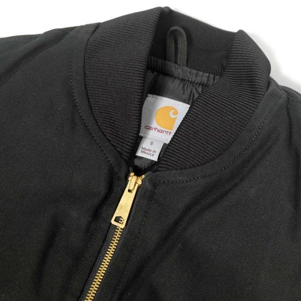カーハート ダック ベスト V01 カーハート ブラック メンズ|rawdrip|02
