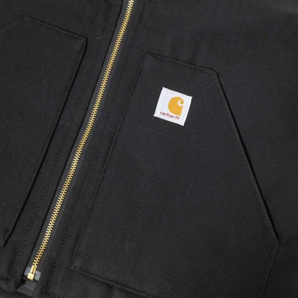 カーハート ダック ベスト V01 カーハート ブラック メンズ|rawdrip|04