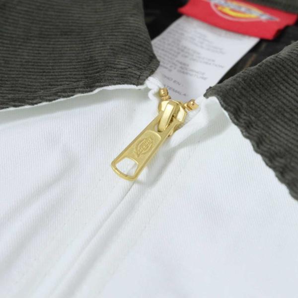 ディッキーズ ペインターズ フランネル ライニング ジャケット ホワイト/メンズ/ワークウェア|rawdrip|03