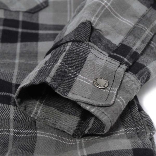 ディッキーズ リラックスフィット アイコン フード キルティング シャツ ジャケット スレート グラファイト プレイド メンズ rawdrip 07