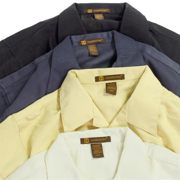 ハリトン バハマ コード キャンプ シャツ 全3色 メンズ|rawdrip|02