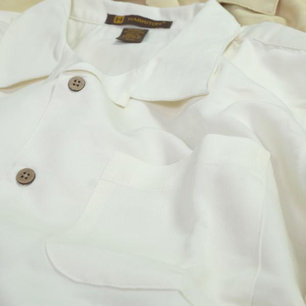 ハリトン バハマ コード キャンプ シャツ 全3色 メンズ|rawdrip|03