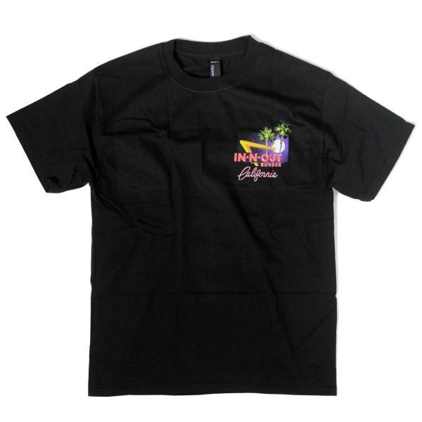 インアウトバーガー #129 2011 ステイン ザ セイム Tシャツ ブラック|rawdrip|02