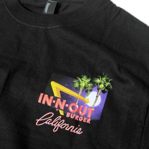 インアウトバーガー #129 2011 ステイン ザ セイム Tシャツ ブラック|rawdrip|03