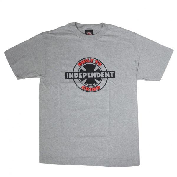 インディペンデント 95 BTG リング レギュラー Tシャツ グレー|rawdrip