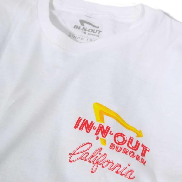 インアウトバーガー #90 アット ザ ビーチ ロングスリーブ Tシャツ ホワイト rawdrip 03