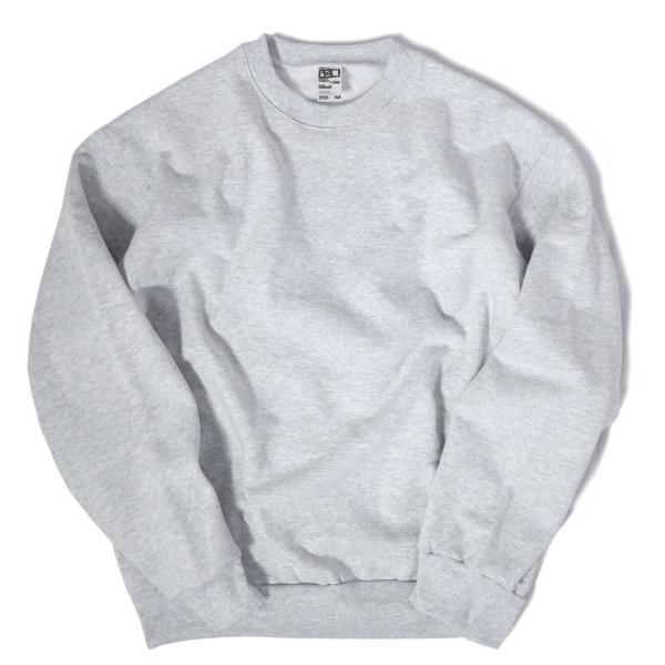 ロサンゼルス アパレル 14oz ヘビー フリース プルオーバー クルーネック スウェットシャツ 全2色 メンズ|rawdrip|02