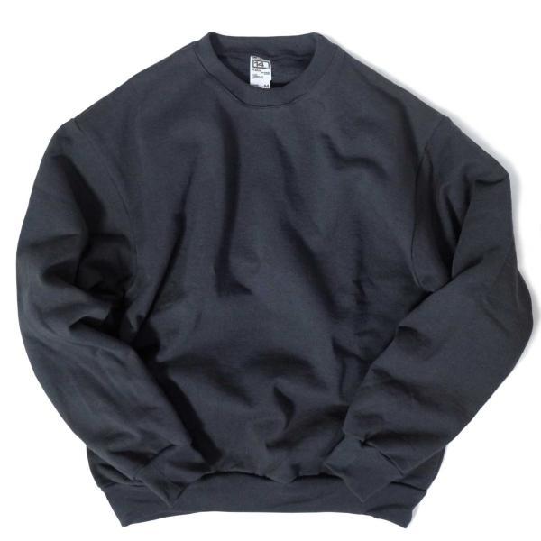 ロサンゼルス アパレル 14oz ヘビー フリース プルオーバー クルーネック スウェットシャツ 全2色 メンズ|rawdrip|04