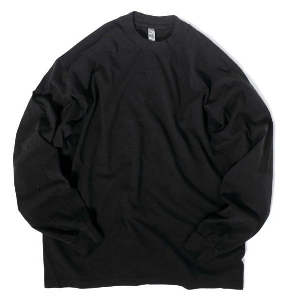 ロサンゼルス アパレル 6.5oz ロングスリーブ ガーメント ダイ Tシャツ 全4色|rawdrip|03