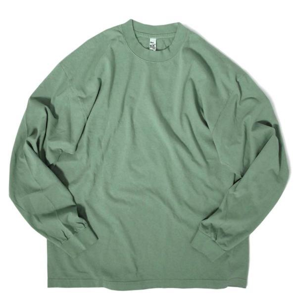 ロサンゼルス アパレル 6.5oz ロングスリーブ ガーメント ダイ Tシャツ 全4色|rawdrip|05