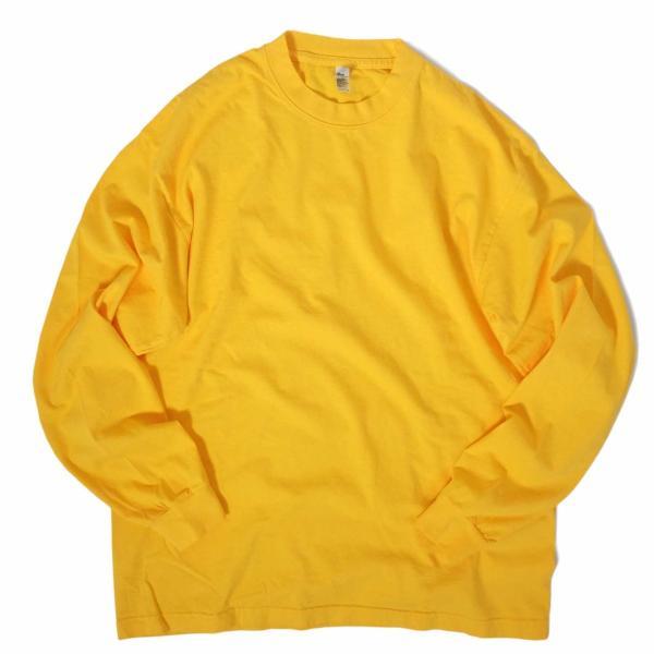 ロサンゼルス アパレル 6.5oz ロングスリーブ ガーメント ダイ Tシャツ 全4色|rawdrip|06