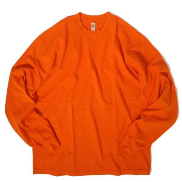 ロサンゼルス アパレル 6.5oz ロングスリーブ ガーメント ダイ Tシャツ 全4色|rawdrip|07