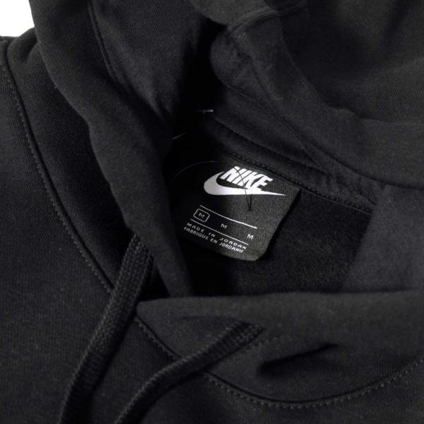 ナイキ クラブ フーディー ブラック メンズ|rawdrip|02
