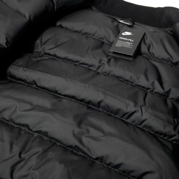 ナイキ ダウン フィル ボンバー ジャケット ブラック メンズ|rawdrip|04