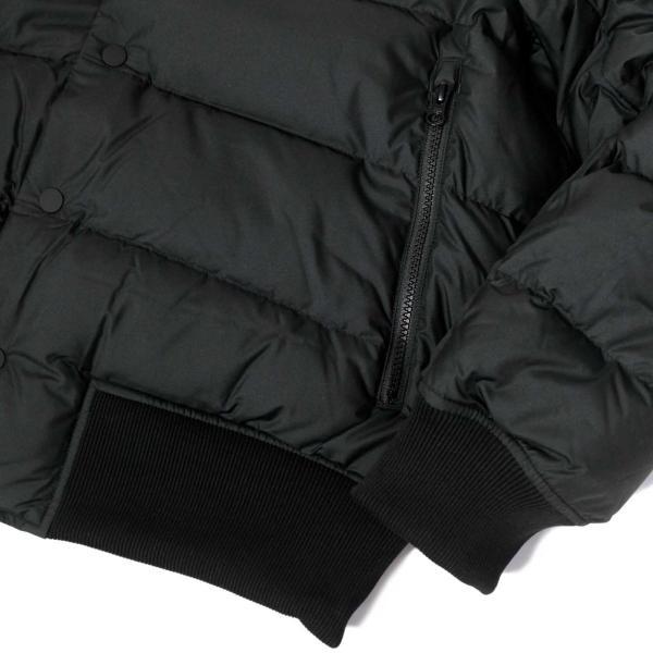 ナイキ ダウン フィル ボンバー ジャケット ブラック メンズ|rawdrip|05