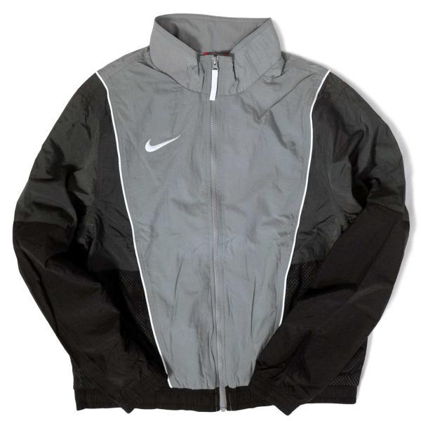 ナイキ スローバック トラック スーツ ジャケット グレー/ブラック メンズ rawdrip