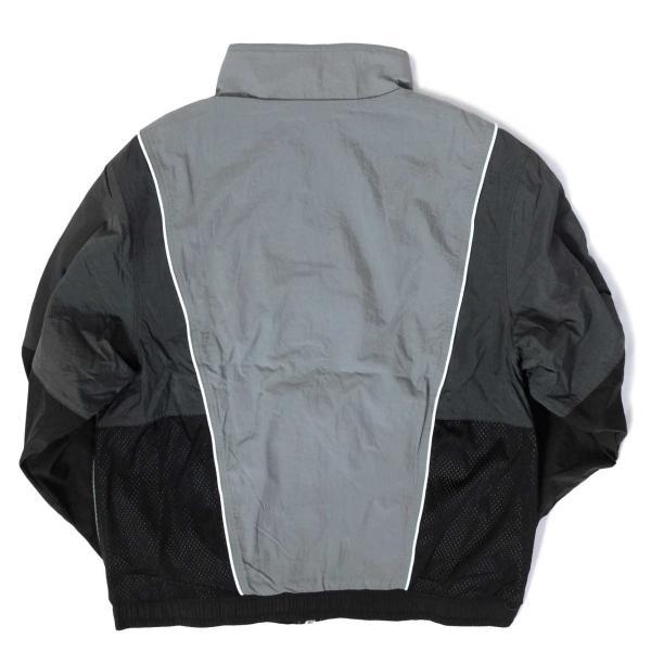 ナイキ スローバック トラック スーツ ジャケット グレー/ブラック メンズ rawdrip 02