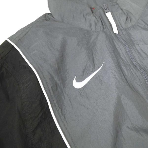 ナイキ スローバック トラック スーツ ジャケット グレー/ブラック メンズ rawdrip 03