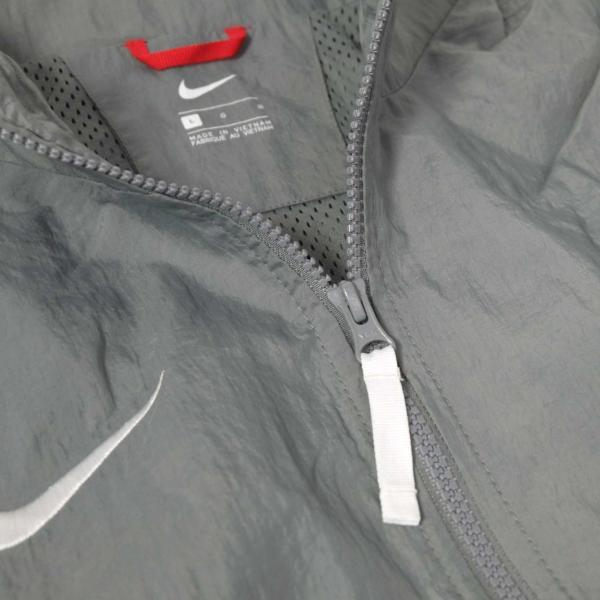 ナイキ スローバック トラック スーツ ジャケット グレー/ブラック メンズ rawdrip 04