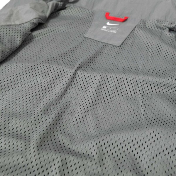 ナイキ スローバック トラック スーツ ジャケット グレー/ブラック メンズ rawdrip 05