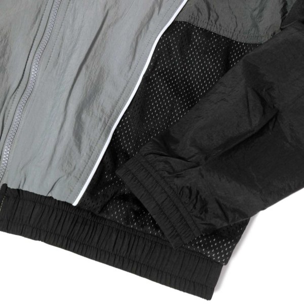 ナイキ スローバック トラック スーツ ジャケット グレー/ブラック メンズ rawdrip 06