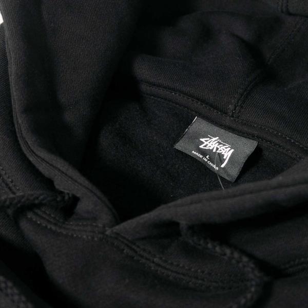 ステューシー ベーシック ステューシー フード 全2色/メンズ/パーカー|rawdrip|06