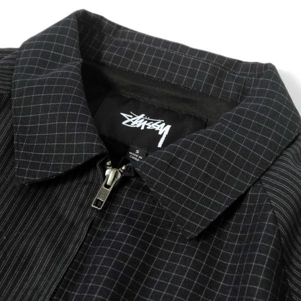 ステューシー ミックス アップ ブライアン ジャケット ネイビー メンズ/ジャケット/ブルゾン|rawdrip|02